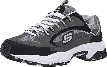 Skechers Stamina Nuovo Cutback-Tenis deportivos con cordones para hombre.