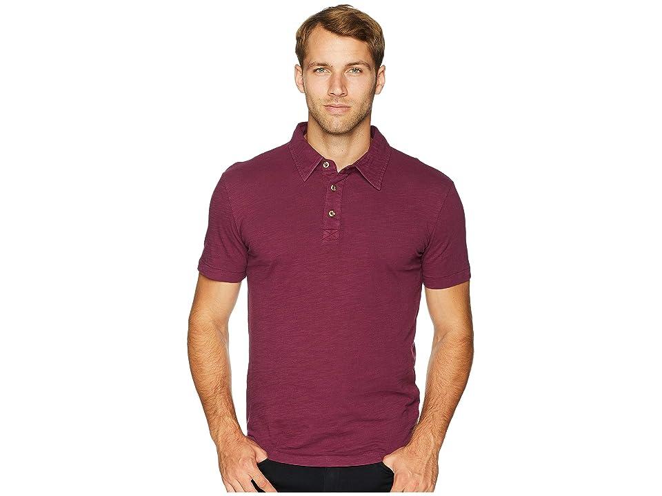 Mod-o-doc Zuma Short Sleeve Polo (Mulberry) Men