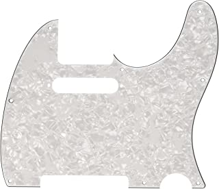 Fender Standard Telecaster Pick Guard (8-Hole) 4-Ply - White Pearl