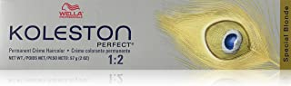 Wella Koleston Perfect Permanent Creme Haircolor 1: 2 12/81 Special Blonde/pearl Ash, 0.3 Oz