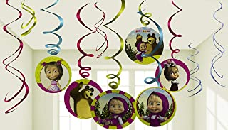 masha and the bear birthday decorations