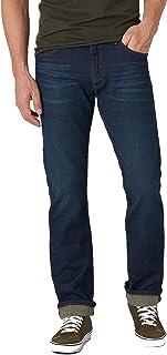 Lee Men's Legendary Slim Straight Leg Jean, Road Rash, 31W x 34L