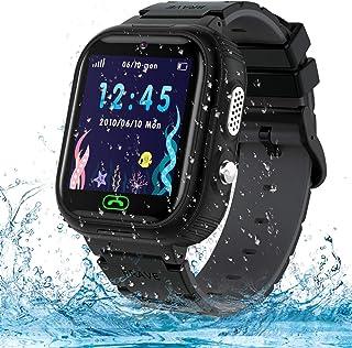 Jaybest Barn smartklocka Ip67 vattentät – smart watch lbs tracker pekskärm kamera SOS nummerskärm fjärrkontroll pojke flic...