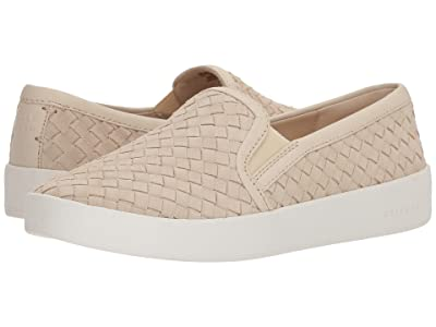 Cole Haan Grandpro Spectator Slip-On (Brazilian Sand Woven Suede/Brazilian Sand Leather/Optic White) Women