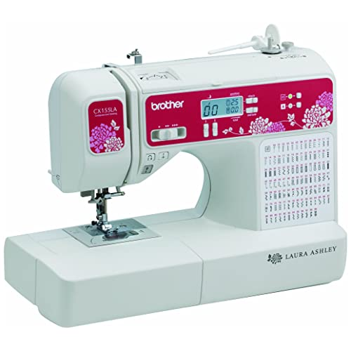 Brother Sewing Laura Ashley CX155LA Limited Edition Sewing & Quilting Machine with Built-in Sewing