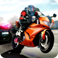 - Detailed highway's environments and great 3D graphics - Choose your favorite bike's type: chopper, dirty cross bike or sportbike - 4 amazing game modes and 3 unique locations - Smart cop's AI in the Police Pursuit game mode - First person rider vie...