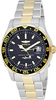 Invicta Men's Black Stainless Steel Analog Casual Watch - 25825