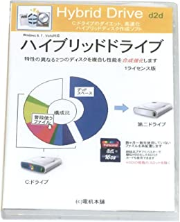 SSD/HDD複合化「ハイブリッドドライブ d2d」