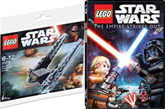 Star Wars Lego: The Empire Strikes Out Animated Movie DVD & SPECIAL FORCES LEGO Buildable Starship Sci-Fi Set