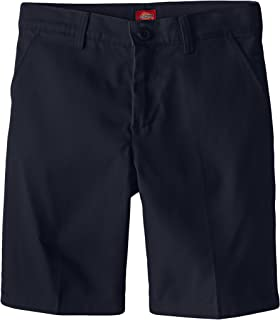 Girls' Flex Waist Slim Fit Flat Front Short