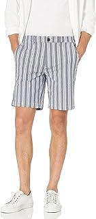 """Amazon Brand - Goodthreads Men's 9"""" Inseam Comfort Stretch Seersucker Short"""