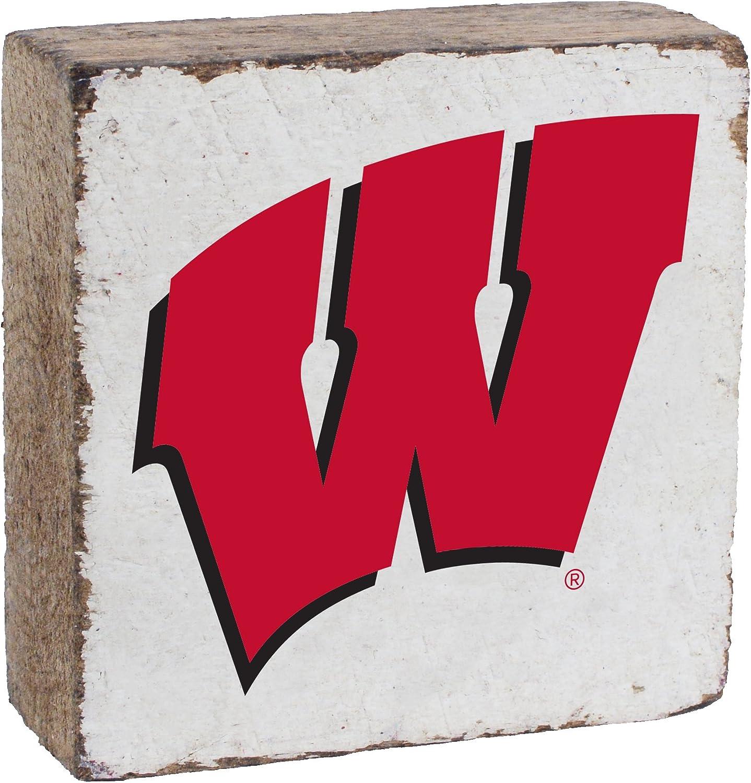 NCAA Unisex NCAA Rustic Block, White