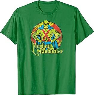 Justice League Martian Manhunter Circle T Shirt T-Shirt