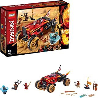 LEGO Ninjago - Catana 4 x 4 Juguete de construcción de Vehículo Ninja, el Set Incluye Minifiguras de Guerreros, Novedad 2019 (70675) , color/modelo surtido