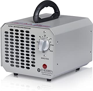 Enerzen Commercial Ozone Generator Industrial O3 Air Purifier Deodorizer Sterilizer, 6,000mg - Silver