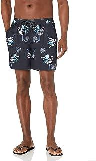 Quiksilver Men's 17 Inch Elastic Waist Swim Trunk Bathing Suit Short
