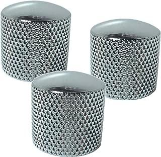 stratocaster metal knobs