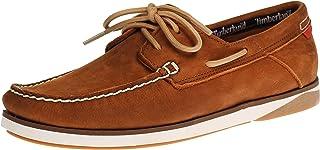 Timberland Men's Atlantic Break Boat Shoes, Brown