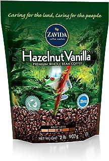 Zavida Coffee Hazelnut Vanilla Whole Bean - 2lb (pack of 2)