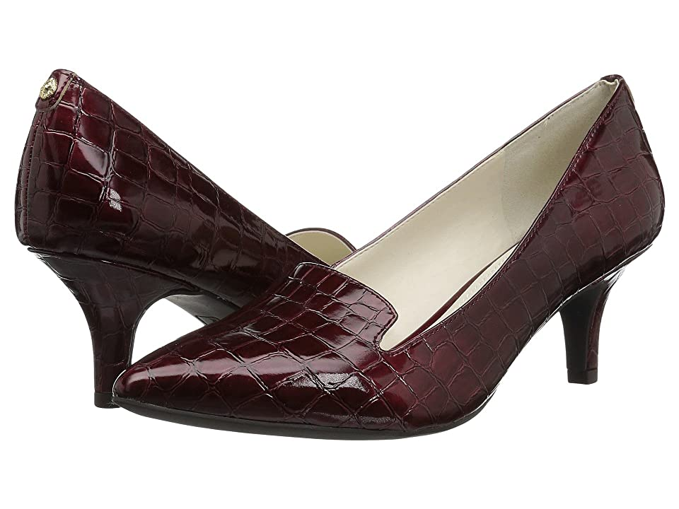 Anne Klein Felice (Dark Red Synthetic) Women