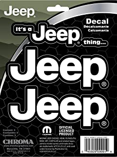 Best small jeep decals Reviews