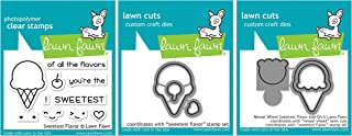 Lawn Fawn - Sweetest Flavor - Stamps and Die Sets - 3 Items