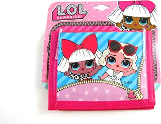 UPD LOL Surprise Non- Woven Bifold Wallet on Card W/Printing on Front & Back L.O.L