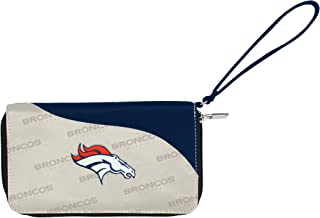Littlearth NFL unisex NFL Curve Zip Wallet