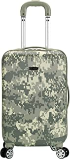 Rockland Hardside Polycarbonate Upright with Spinner Wheels, MULTI
