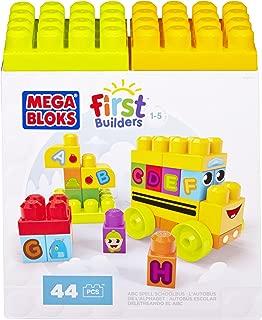 Mega Bloks DBK84 First Builders ABC Spell School Bus, Multi