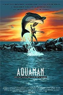 Twenty-three Aquaman Comics Movie Classic Poster Home Decoration Art Silk Wall Poster Art Silk canvas poster 24X36Inch