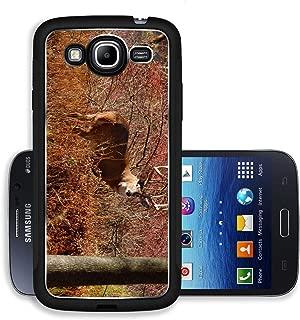 Liili Premium Samsung Galaxy Mega 5.8 Aluminum Case Whitetail Deer Buck standing in a woods Image ID 23469244