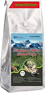 Himalayan Arabica Green Beans Coffee Grow on Sun Shade Hand Picked Cupping (Low Acidity) Score 90 - Net Wt. 35.27 Oz World's Best Organic Coffee of Himalayas, Nepal