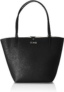 GUESS Bobbi Large Tote borsa a spalla reversibile nero