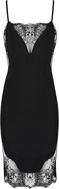 DIOR BELLA Helena Black Lace Bodycon Mini Dress