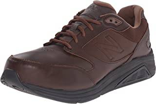 New Balance Men's MW928V2 Hook And Loop Walking Shoe, Black, 10 2E US