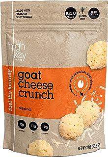 HighKey Snacks Cheese Crunch – Goat Cheese Crunch, 2oz