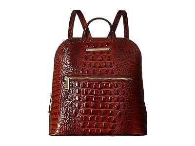 Brahmin Melbourne Felicity Backpack (Pecan) Handbags