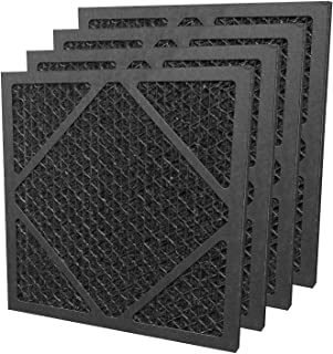 MOUNTO Active Carbon Filter Replacement Set for Drieaz HEPA500 (4pc Package)