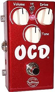 Fulltone CS-CAR-OCD Custom Shop Limited OCD Candy Apple Red