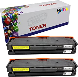 Hi Ink Compatible Toner Cartridge Replacement for Samsung 101 MLT-D101S Compatible with ML-2165W SCX-3400FW SP-760P SCX-3405FW SCX-3400F Printer (2 Pack)