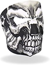 Hot Leathers Assassin Printed Neoprene Face Mask (Black)