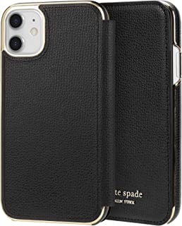 Kate Spade New York Inlay Folio for iPhone 11 - Black