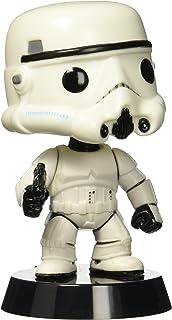 Funko POP: Película: Star Wars: Stormtrooper vinilo Figura + Funko Protective Case