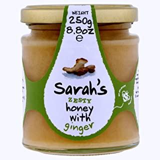 Mileeven Sarah's Zesty Honey with Ginger, 8.8 Ounce