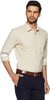 Diverse Men's Solid Regular Fit Formal Shirt
