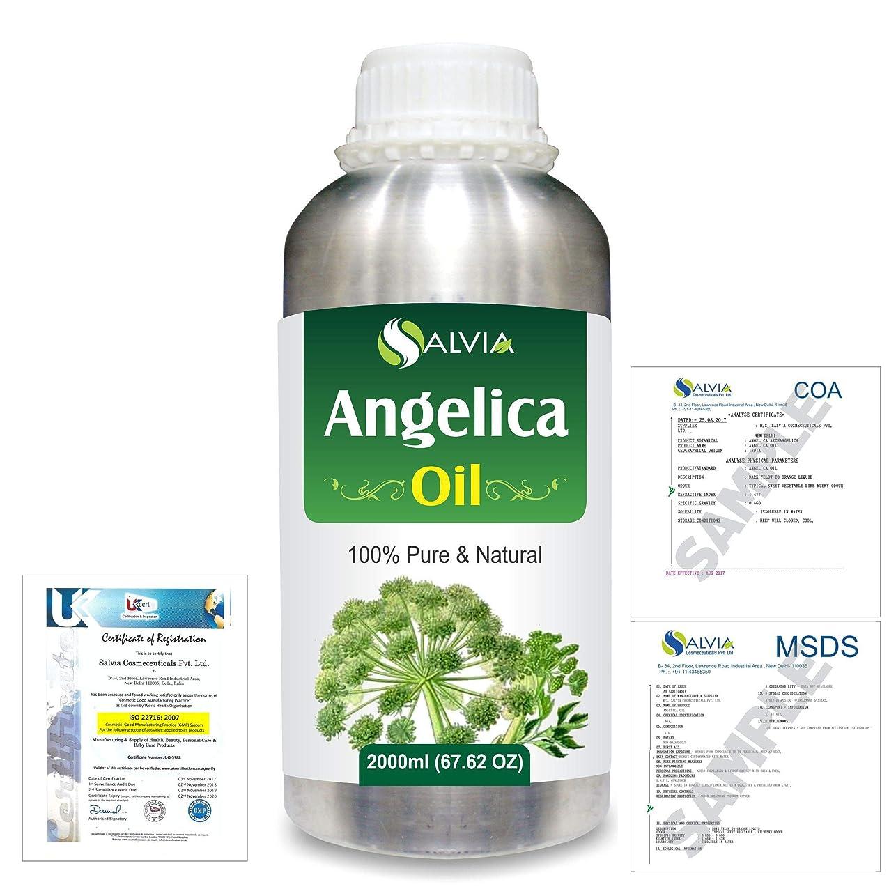 本当のことを言うと分析する足Angelica (Angelica archangelica) 100% Natural Pure Essential Oil 2000ml/67 fl.oz.