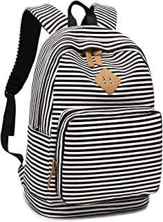 Girls Womens College Laptop Backpack School Bookbag Travel Rucksack School Bag with USB Charging Port for High School