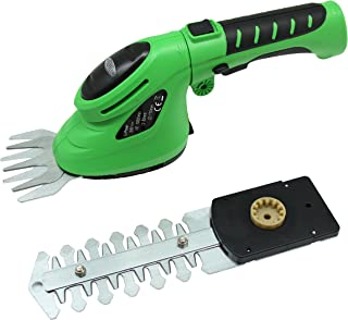 East ET2903 3.6-Volt Lithium-Ion Cordless Grass Shear/Hedge Trimmer with Rotating Handle