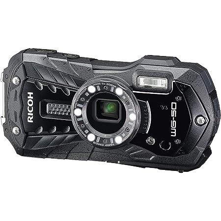 Ricoh WG-50 Fotocamera Compatta Impermeabile, Nero